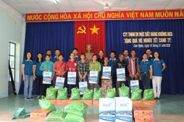"AGS HELD THE ""WARM SPRING"" CHARITY PROGRAM"