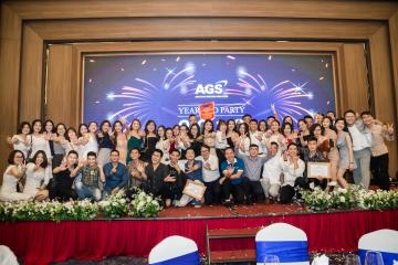 AGS SUCCESSFULLY HELD A YEAR-END PARTY 2019