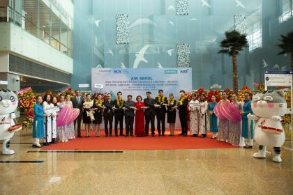 AGS WELCOME INAUGURAL FLIGHTS OF AIR SEOUL (RS)