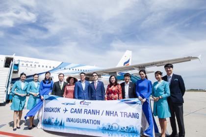 Chào mừng Hãng hàng không Bangkok Airways trở thành khách hàng của Công ty AGS