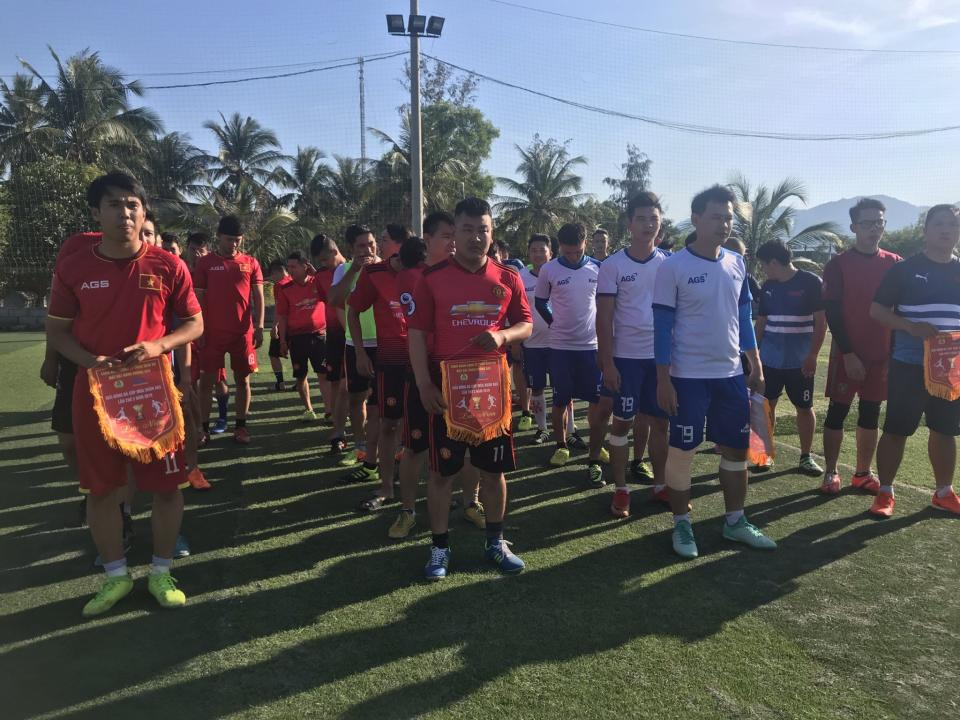 AGS and CIAS successfully organized Mini Football League 2019